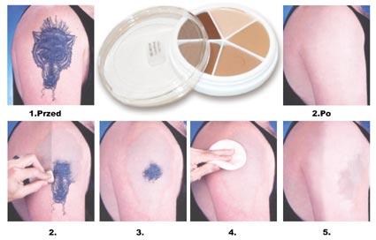 ProColoRing - Tattoo Cover Mehron - korektor i camuflage 2w1