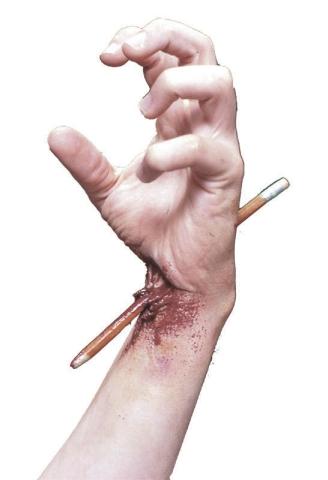Ołówek w ciele
