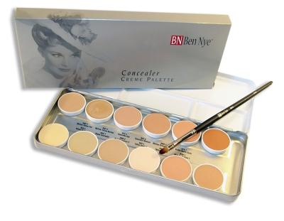 Concealer Creme Palette 12 kolorów Ben Nye