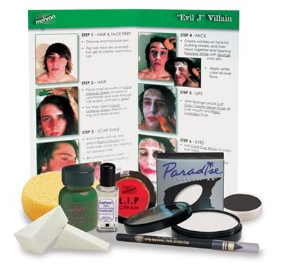 Character Makeup Kit - Evil J - Mehron