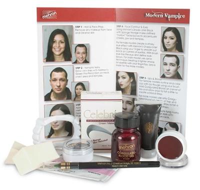 Character Makeup Kit - Modern Vampire - Mehron