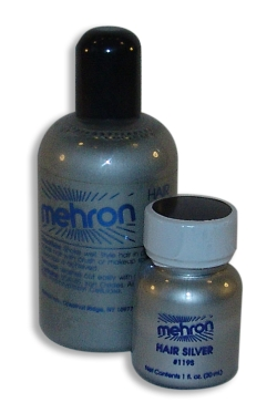 Mehron Hair Silver
