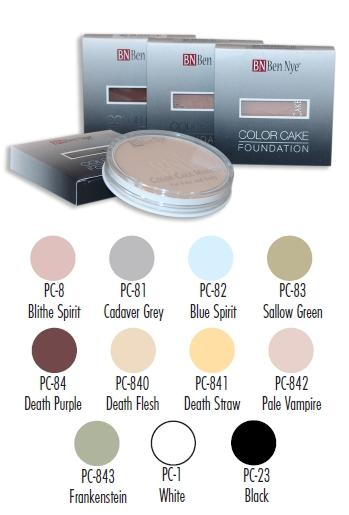 Color Cake Foundations Ben Nye - kolory specjalne