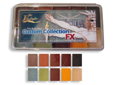 Skin Illustrator FX Custom Collection Palette