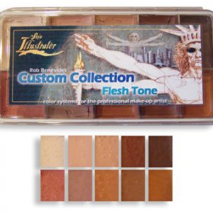 Skin Illustrator FX custom flesh tone Palette