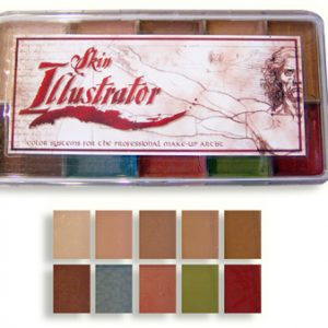 Skin Illustrator Flesh Tone Pallete