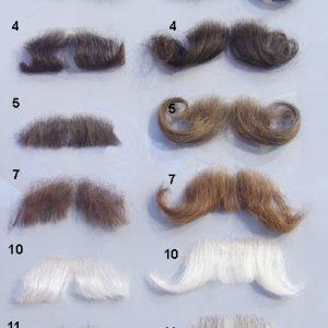 Sztuczne wąsy - krótkie