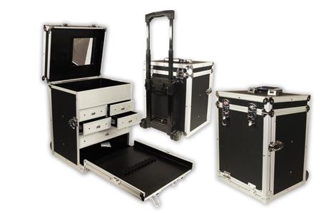 Kufer charakteryzatorski Aluminiowy - Monda STUDIO