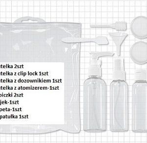 Puste buteleczki i aplikatory zestaw 10