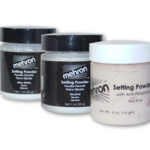 Setting Powder - puder transparentny Mehron