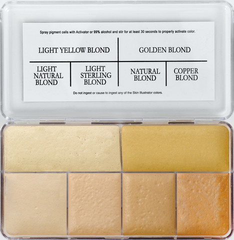 Skin Illustrator Warm Blond Palette