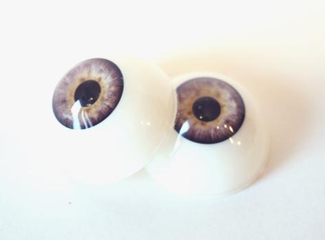 Sztuczne oko - Szare, Zielone, Niebieskie, Brązowe