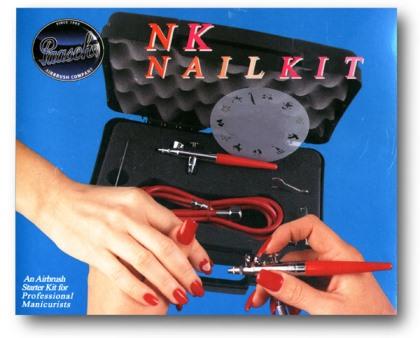 Paasche Airbrush NAIL KIT - Aerograf