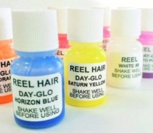 REEL AIRBRUSH INKS DAY-GLO SAMPLE KIT - farba fluorescencyjna