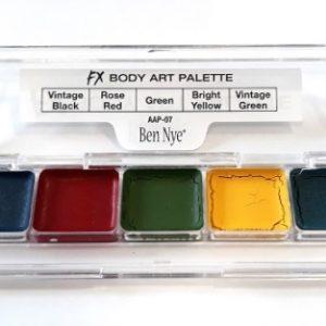 FX BODY ART Palette Ben Nye