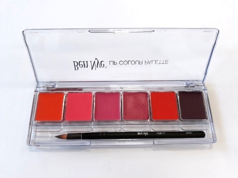 Lip Colour Palette Fashion Ben Nye