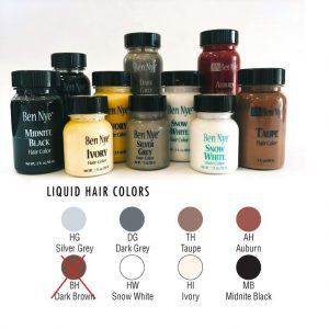 Ben Nye Liquid Hair Colors