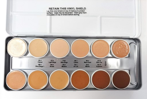 Ben Nye Matte HD Foundation Palette