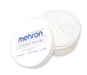 Mehron Colorset Powder - puder transparentny