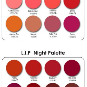 Mehron L.I.P. Color Cream Palette